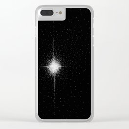 Starburst Clear iPhone Case