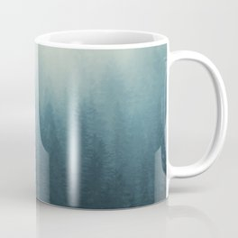 Into The Misty Nature - Turquoise II Coffee Mug