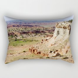 Painted Desert Valley Rectangular Pillow