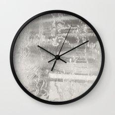 Falling Hard Wall Clock