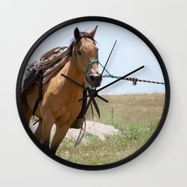 A Light Gallop Wall Clock