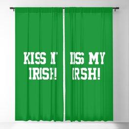 Kiss My Irish! Blackout Curtain