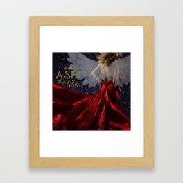 When Ash Rains Down Framed Art Print