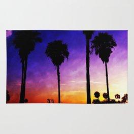 Purple Sunset Rug