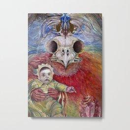 The Surrogate Mother-Goddess of Wisdom holding Alter-Ego Baby Bogomil Metal Print