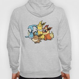 Pokémon - Number 133, 134, 135 and 136 Hoody