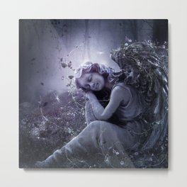 The Stone Angel Metal Print