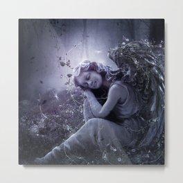 The Stone Angel Metal Print