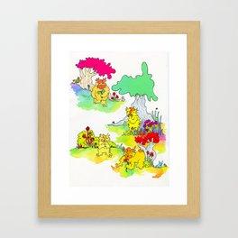 a dindin affair Framed Art Print