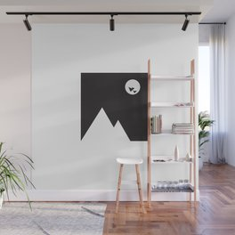 ABSTRACT_02_ THE NIGHT Wall Mural