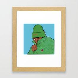 Tyler Who Creates Framed Art Print