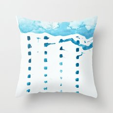 raincloud Throw Pillow