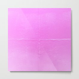 Melrose Pink Wall Metal Print
