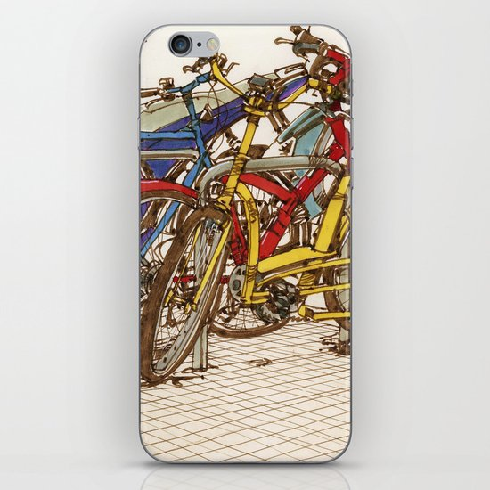 Bike Mess iPhone & iPod Skin