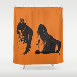 Rugged Wingtips Shower Curtain