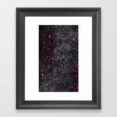 Chemical Reaction Framed Art Print