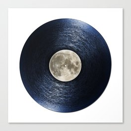 Moon on the Water Canvas Print