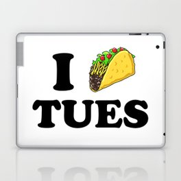 I taco tuesday Laptop & iPad Skin