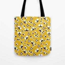 Crisscross Butterflies V.02 - Honey Color Tote Bag
