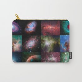 Spitzer Telescope Space Collage Carry-All Pouch