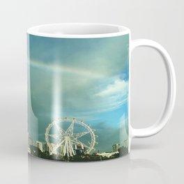 Rainbow over Melbourne Coffee Mug