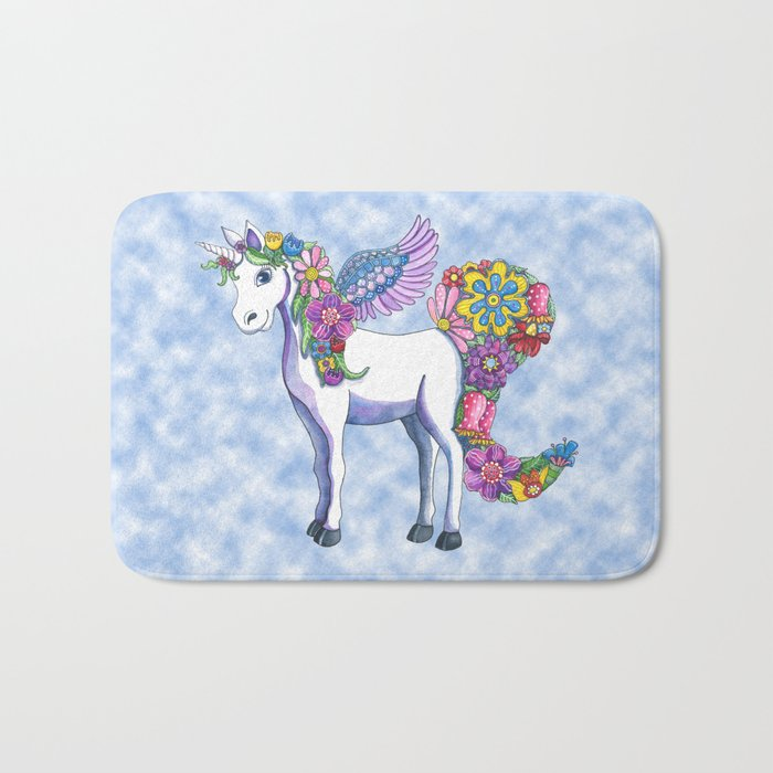 Madeline the Magic Unicorn 2 Bath Mat