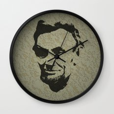 Lincoln Wall Clock