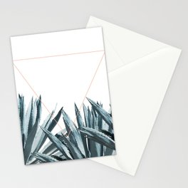 Agave Triangle Stationery Cards
