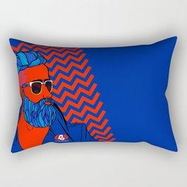 Mr BEARDMAN Rectangular Pillow