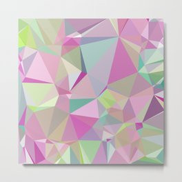 Colorful Triangles 3 Metal Print