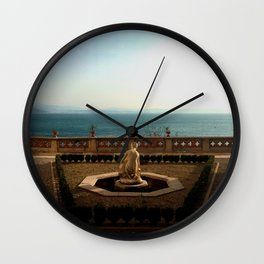 Nude in Marble at Sea Wall Clock
