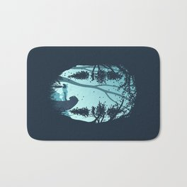Lonely Spirit Spirited Away Bath Mat