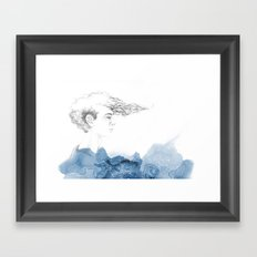His seacret Framed Art Print