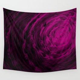 Organic Spiral - Purple Wall Tapestry