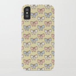 Sweet Ribbons & Bows iPhone Case