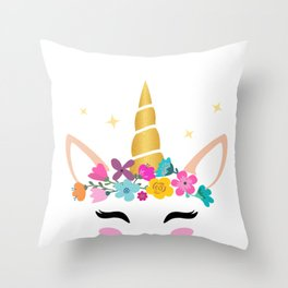 Middle Sister  Throw Pillow