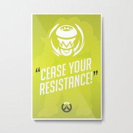Ultimate Quote - Orisa Metal Print