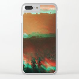 Lombok mornings Clear iPhone Case
