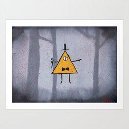 Bill Cipher Art Print