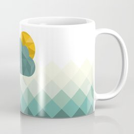 Sea Polygons Coffee Mug