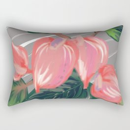 Pinkies Rectangular Pillow
