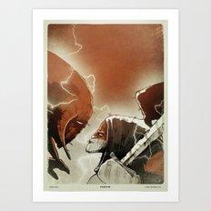 Fallen III. Art Print