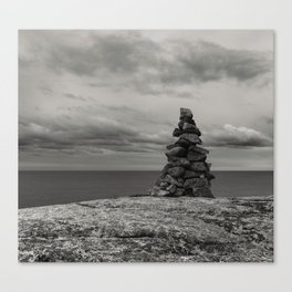 Monument by the Sea Canvas Print