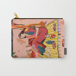 AUTUMN PICNIC IN A PARK Carry-All Pouch