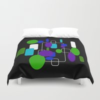 community Duvet Covers featuring Community by lillianhibiscus