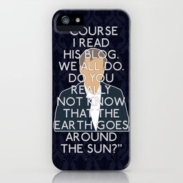 The Great Game - Greg Lestrade iPhone Case