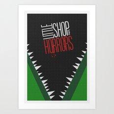 Little Shop of Horrors Art Print