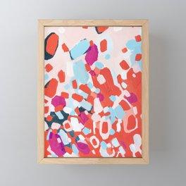 Nail Polish on the Carpet Framed Mini Art Print