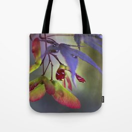 Japanese Maple Seeds Tote Bag