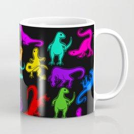 Glowing Dinos Coffee Mug